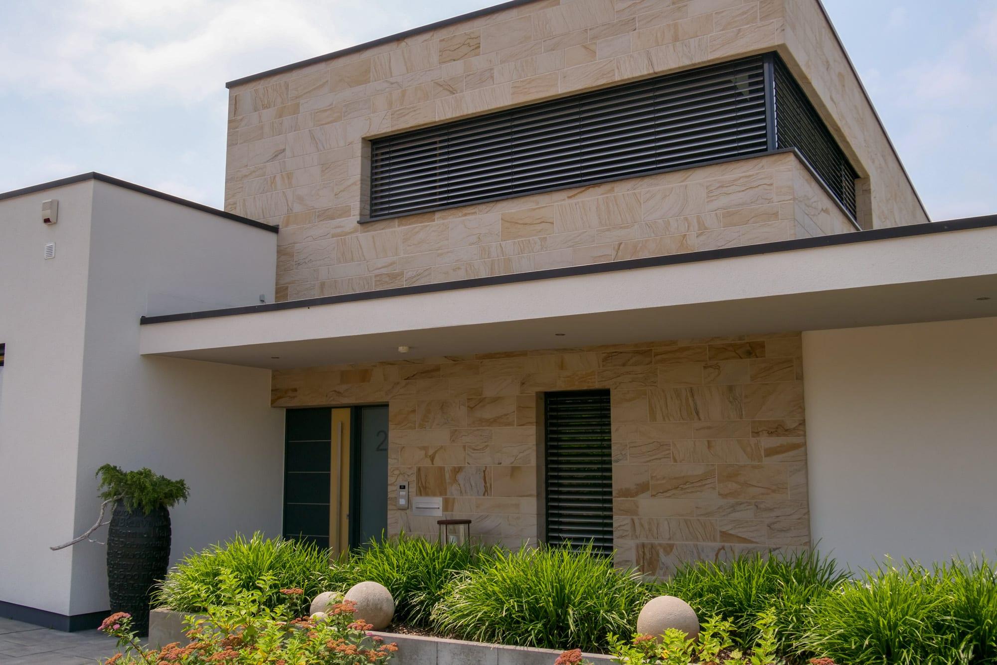 Sandsteinfassade, Wärmedämmung, Fassade kleve