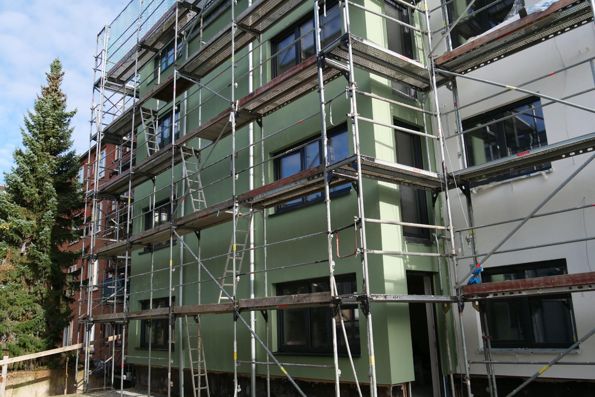 Fassadenanstrich kleve